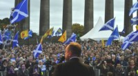 The annual Scottish independence march and rally yesterday in Edinburgh was attended by around 30,000 people, a threefold increase on the previous year. It was a real family day out […]