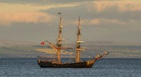 The hit tv series Outlander is filming Season 2 in locations around Fife. A tall ship called The Phoenix is currently moored off the coast of Kirkcaldy...