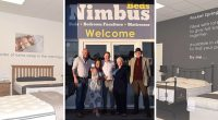 Nimbus beds in Thornton have recently doubled the size of their showroom. The company which is run by 19 year old George Sinclair has recently also expanded into providing bedroom furniture and accessories.